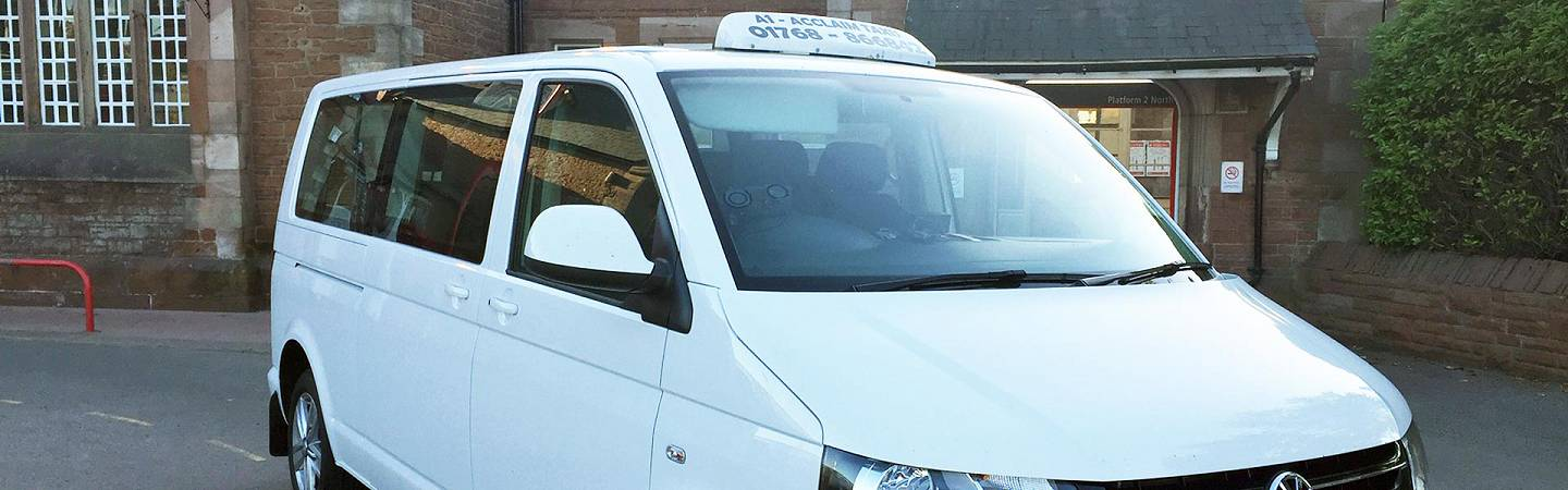 Photo: A1 Acclaim Taxi at Penrith station